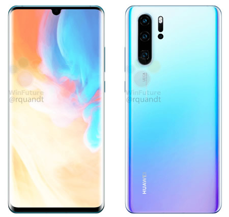 Huawei P30 / P30 Pro 3K standards, revealing up to 40W fast data